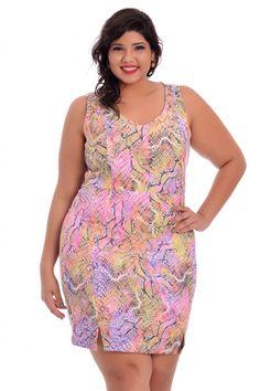 Vestido Chic Vikas - VK Moda Plus Size