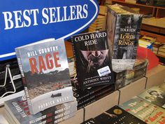 Cold Hard Ride is available at Book People in Austin, Texas. www.anthonywhitt.com