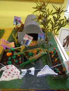 air raid shelter role play - Google Search School Displays, Classroom Displays, School Projects, History Projects, Projects For Kids, Air Raid, Bomb Shelter, Primary Education, Easter Art