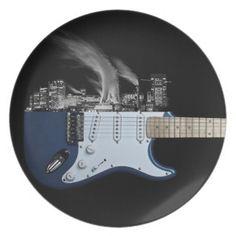 Guitar City Plates