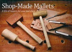 Wooden Mallet Plans - Hand Tools Tips and Techniques | WoodArchivist.com
