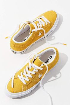 finest selection 808c5 2557b Converse One Star Suede Sneaker. YESSS LOVE a yellow sneaker, and this is  exactly