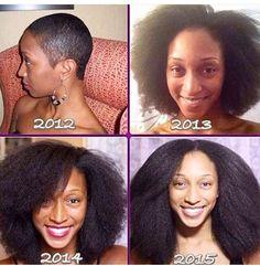 @mscatrin || Hair growth journey. Healthy hair journey. Natural hair journey. Back to natural.