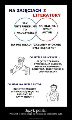 Język polski – Przedmiot, w którym nikogo nie interesuje co autor miał na myśli.