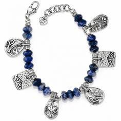 Brighton is known for its exquisitely crafted women's handbags, jewelry, and charms for bracelets, along with many other stylish accessories. Lace Bracelet, Bracelets, Bali Jewelry, Brighton Jewelry, Gypsy, Women Jewelry, Charmed, Handbags, Stylish