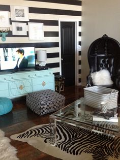 My glam loft by Molly Kate's arteriors