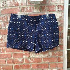 J. Crew Pants - NWOT J. Crew Ikat Shorts