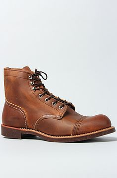 """Red Wing - 6"""" Iron Ranger Boot in Copper"""