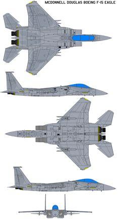 McDonnell Douglas Boeing F-15 by bagera3005.deviantart.com on @DeviantArt