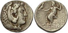 Macedonian Kingdom, Alexander III The Great, 336 - 323 B.C.