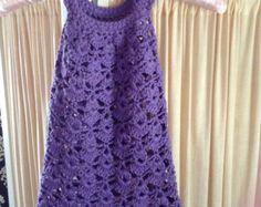Crochet dress PATTERN Chantilly Lace Sundress von monpetitviolon