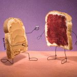 peanut butter and jelly - bent objects art by Terry Border - Clou,clouer Everyday Items, Everyday Objects, Jelly Time, We Go Together Like, Food Artists, Food Humor, Food Jokes, Funny Food, Memes Humor