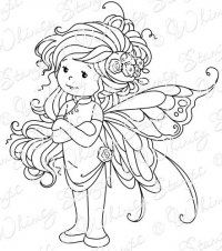 *Whimsy Stamps - Wee Stamps - Summer Fairy