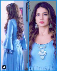Pakistani Dress Design, Pakistani Dresses, Indian Dresses, Bollywood Dress, Kurti Neck Designs, Blouse Designs, Jennifer Winget Beyhadh, Girl Fashion, Fashion Dresses