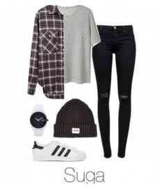 """""""Suga ideal type wear Jordan's instead."""" by jungkookie123 ❤ liked on Polyvore"""