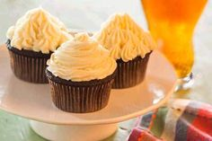 December 10: Today is also National Lager Day! Try it in rich chocolate cupcake form!