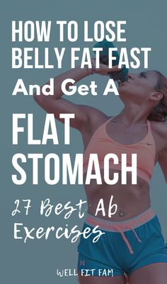 Find the best ab exercises for women. Some exercises are actually ineffective and time-consuming. By choosing the best exercise you can burn belly fat. 5 Minute Abs Workout, Quick Ab Workout, Quick Morning Workout, Best Workout Plan, Abs Workout Routines, Hard Workout, Morning Workouts, Workouts For Teens, Fun Workouts