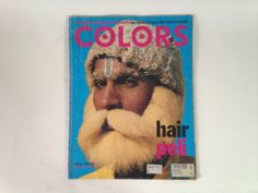 Colors Magazine Rare Back Issue #22 Hair Italy Benetton