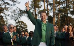 Englishman Danny Willett took advantage of a shocking back-nine meltdown by defending champion and runaway leader Jordan Spieth to win his first major title by three shots at the Masters on Sunday. Rickie Fowler, Golf Cart Accessories, Jordan Spieth, Girls Golf, Golf Exercises, European Tour, Golf Fashion, Golf Outfit