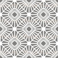 Modern Allover Decorative Stencil MULTIPLE by CreativeStencils, $14.95