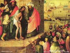 hieronymous bosch art | Paintings by Hieronymus Bosch :Ecce Homo, Hieronymus Bosch Paintings ...