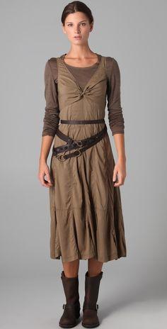 Donna Karan Casual Luxe Full Parachute Dress