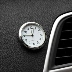 *Condition: 100% Brand New and Good Quality *Material:PVC *Quantity: 1pcs *Application: Car Clock Ornament *100% Brand new and high quality *A good gift for yourself and your family friend. Package Include: 1pc Car Clock 1pc Double-sided adhesive Car Accessories Gifts, Analog Alarm Clock, Automobile, Car Ornaments, Cat Wall, Small Cars, Digital Watch, Watches, Interior