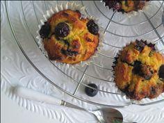 muffins met bosbessen en kokos (suikervrij)