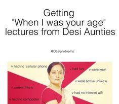 You already know you're a desi when …. Asian Problems, Desi Problems, Punjabi Memes, Punjabi Funny, Desi Humor, Desi Memes, Asian Jokes, Asian Meme, Funny Video Memes