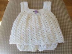 Crochet Baby Dress Easy baby Sun Dress pattern by Carol Garcia