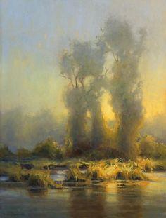 "Rain Glow || Kim Casebeer Oil, 24 x 18"""