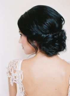 Twist bun wedding hairstyle: Photography: Austin Gros - austingros.com   Read More on SMP: http://www.stylemepretty.com/2017/03/06/dreamy-new-orleans-inspiration-shoot/