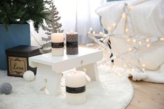 [바보사랑] 캔들하나로 분위기 UP! 인테리어/북유럽/디자인/화이트/캔들/소이캔들/크리스마스/가렌더/트리/오너먼트/장식소품