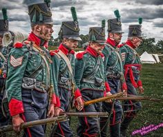 Elements of this regiment fought in Spain, but missed the Waterloo campaign of
