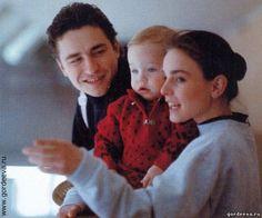 ✿In Memory ‿✿ Katia & Sergei with daughter, Daria