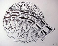 Framed | ballpoint doodle | Jo in NZ | Flickr