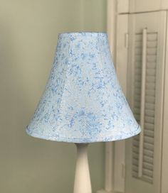 Gray damask lamp shade damask print lamp shade drum lamp shade frozen lamp shade blue and metallic frost frozen inspired aloadofball Image collections