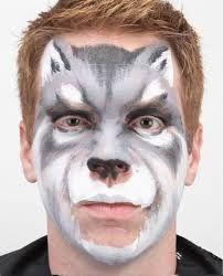 Resultado de imagem para pinturas faciais lobo