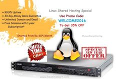 New Year Bumper Offer on Web Hosting   Save 35% Flat OFF on Linux Shared Hosting at Host IT Smart (HITS)