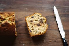 chocolate banana bread - for when you need to fatten up.