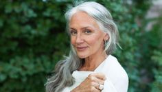 Secrets From A 63 Year Old Model- This is one woman who has that whole inner-outer beauty thing down.