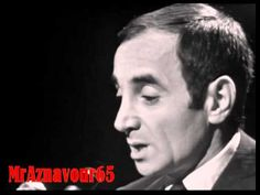 Charles Aznavour chante Tu t'laisses aller 1966 - YouTube
