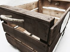 cajas antiguas de madera por reinventa