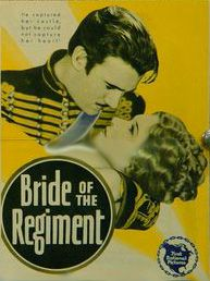 Bride of the Regiment (1930) is an American musical film directed by John Francis Dillon filmed entirely in Technicolor. The screenplay by Ray Harris and Humphrey Pearson is based on the book of the 1922 stage musical The Lady in Ermine by Frederick Lonsdale and Cyrus Wood, which had been adapted from the operetta Die Frau im Hermelin by Rudolph Schanzer and Ernst Welisch. The story is a remake of a 1927 First National silent film, The Lady in Ermine, that starred Corinne Griffith.
