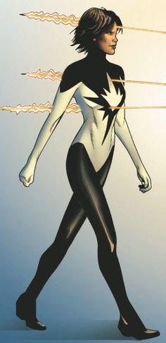 superheroesincolor:  Spectrum (Monica Rambeau) // Marvel Comics