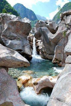 Albanian waterfall