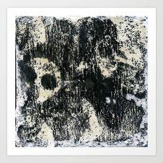 He Said, She Said Art Print by Yousef Balat @ Hoop Snake Graphics LLC - $17.00