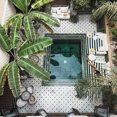 23 of the world's best hotel pools: Le Riad Yasmine, Marrakech, Morocco Image credit: Instagram.com/teresafrancescas