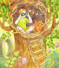 CHILDREN'S CITY Illustrated Calendar: Summer, Lyubov Shevchenko on ArtStation at https://www.artstation.com/artwork/Jn0vZ