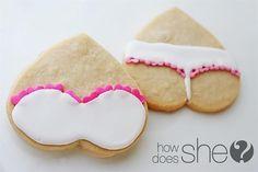 Creative Valentine's Day cookies! :)